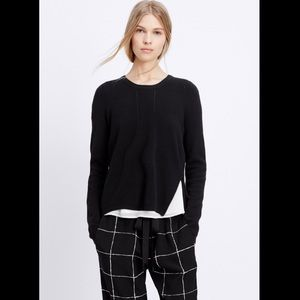 NWT $325 Vince Sweater With Zip Detail
